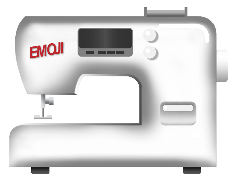 sewing machine emoji apple style